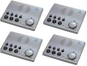 Intercom Systems - 4 Pack of 4 Channel Voice